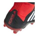 adidas Predator 18.2 FG Schwarz Rot - schwarz