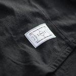 FREAM F.C. Basicline T-Shirt Crew 3 Schwarz - schwarz