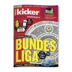 kicker Sonderheft Bundesliga 2018/19 - schwarz