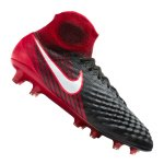 Nike Magista Obra II FG Schwarz Rot F061 - schwarz