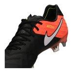 Nike Tiempo Legend VI SG-Pro Schwarz Orange F018 - schwarz