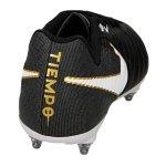 Nike Tiempo Ligera IV SG Schwarz Weiss F002 - schwarz
