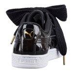PUMA Basket Heart Patent Sneaker Damen F01 - schwarz