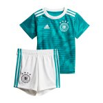 adidas DFB Deutschland Babykit Away WM 2018 Türkis - tuerkis