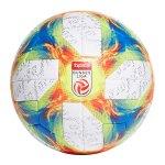 adidas Conext19 OMB Spielball Weiss Gelb Rot - weiss