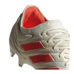 adidas COPA 19.1 SG Weiss Rot - weiss