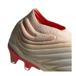 adidas COPA 19+ FG Weiss Rot - weiss