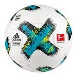adidas DFL Torfabrik Sportivo Trainingsball Weiss - weiss