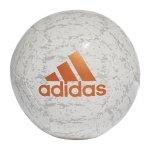 adidas Glider II Trainingsball Weiss Gold - weiss