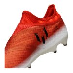adidas Messi 16+ Pureagility FG Rot Schwarz Weiss - weiss