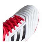 adidas Predator 18.3 FG J Kids Weiss Schwarz - weiss
