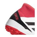 adidas Predator Tango 18.3 TF Weiss Rot - weiss