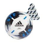 adidas Team Junior 350 Gramm 20xFußball Gr.5 Weiss - weiss