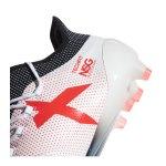adidas X 17.1 FG Weiss Rot - weiss
