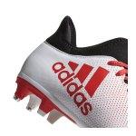 adidas X 17.3 SG Weiss Rot - weiss