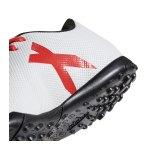 adidas X Tango 17.4 TF J Kids Weiss Rot - weiss