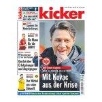 kicker Ausgabe 021/2016 vom 10.03.2016 - weiss
