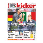 kicker Ausgabe 053/2016 vom 30.06.2016 - weiss