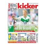 kicker Ausgabe 069/2015 vom 20.08.2015 - weiss
