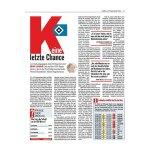 kicker Ausgabe 077/2016 vom 22.09.2016 - weiss