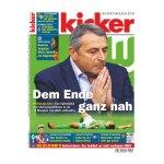 kicker Ausgabe 088/2016 vom 31.10.2016 - weiss