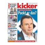 kicker Ausgabe 101/2016 vom 15.12.2016 - weiss