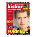 kicker Sonderheft Formel 1 2013 - weiss
