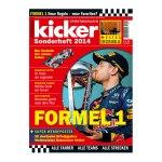 kicker Sonderheft Formel 1 2014 - weiss
