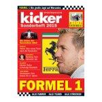 kicker Sonderheft Formel 1 2015 - weiss
