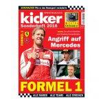 kicker Sonderheft Formel 1 2016 - weiss