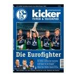 kicker Typen & Triumphe Euro Fighter Schalke - weiss
