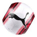 PUMA Big Cat 3 Trainingsball Weiss Rot F01 - weiss