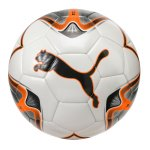 PUMA ONE Star Trainingsball Weiss Orange F01 - weiss