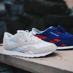 Reebok Classic Nylon Sneaker Weiss Beige - weiss