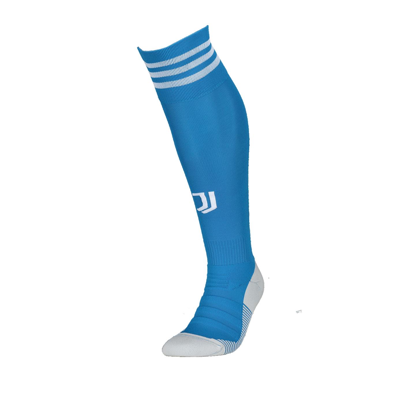 adidas Juventus Turin Stutzen UCL 19/20 Blau - blau