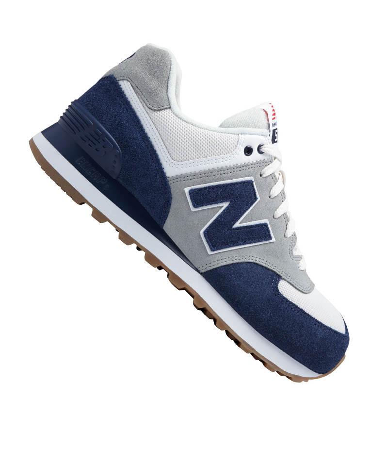 New Balance ML574 Sneaker Leather Blau F5