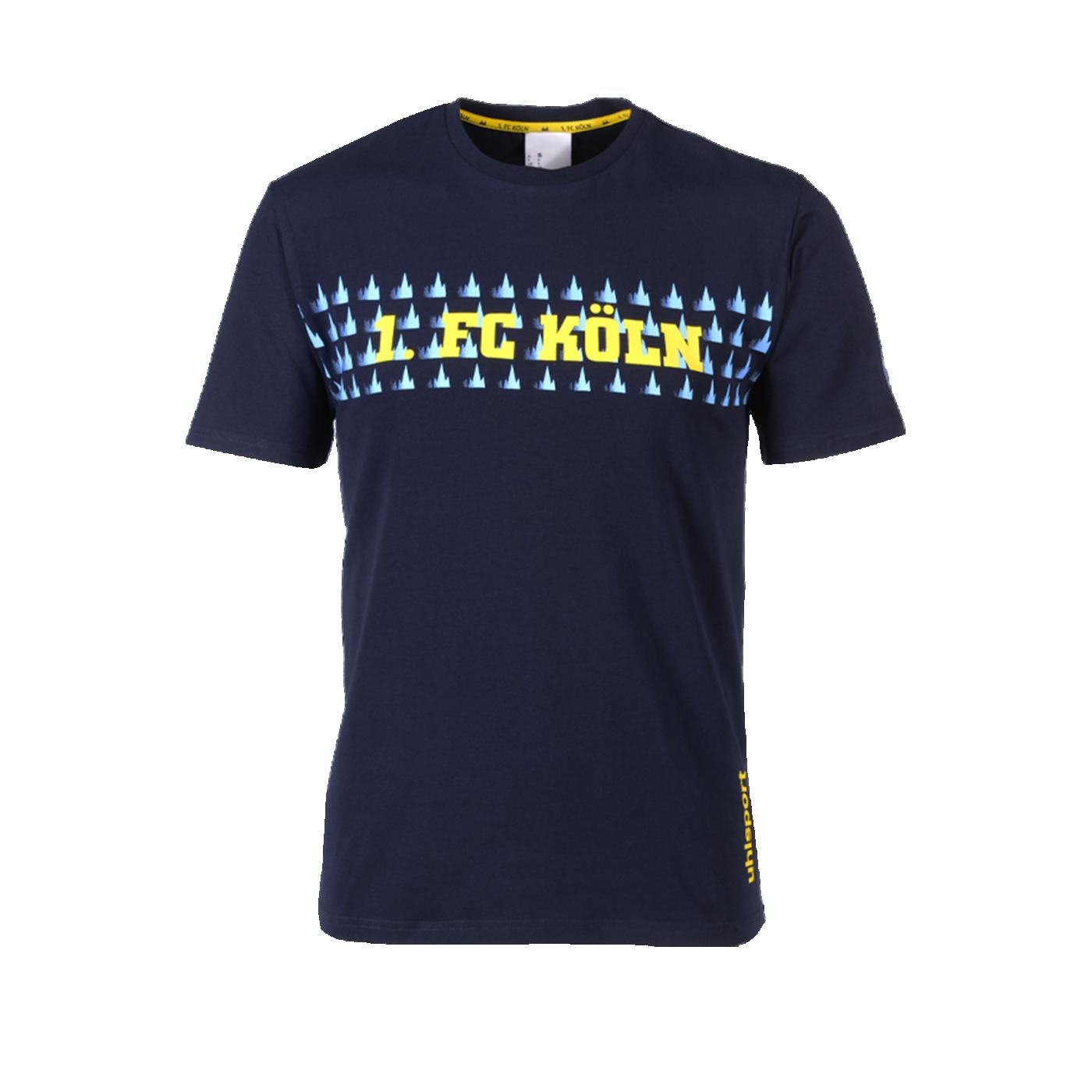 Uhlsport 1. FC Köln T-Shirt 19/20 Blau - blau