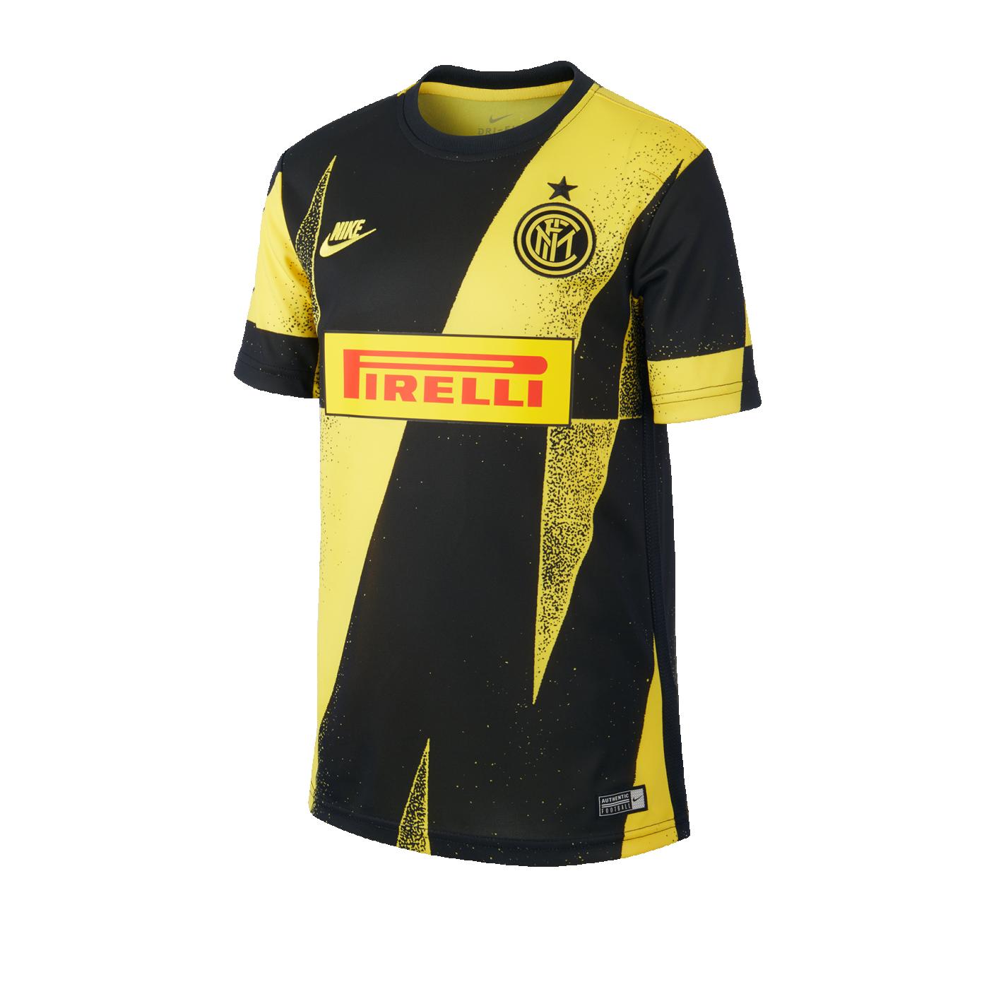 Nike Inter Mailand Dry T-Shirt CL Kids Gelb F724 - gelb