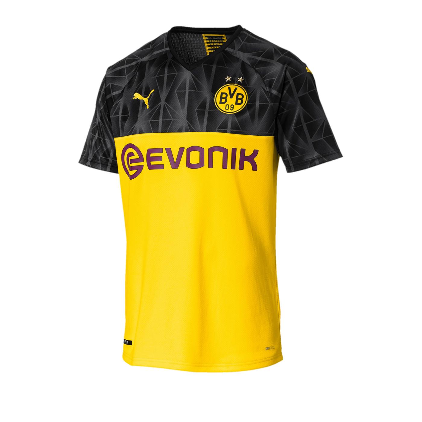 PUMA BVB Dortmund Trikot UCL 20192020 Gelb F11