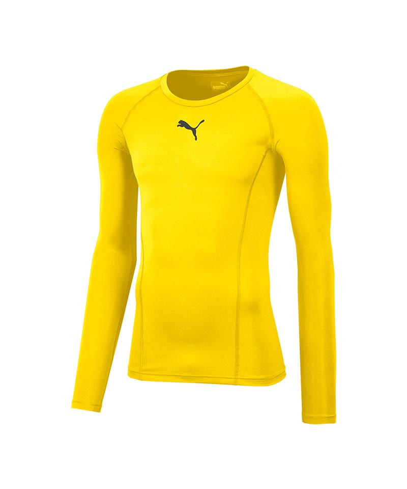PUMA LIGA Baselayer Longsleeve Gelb F06 - gelb