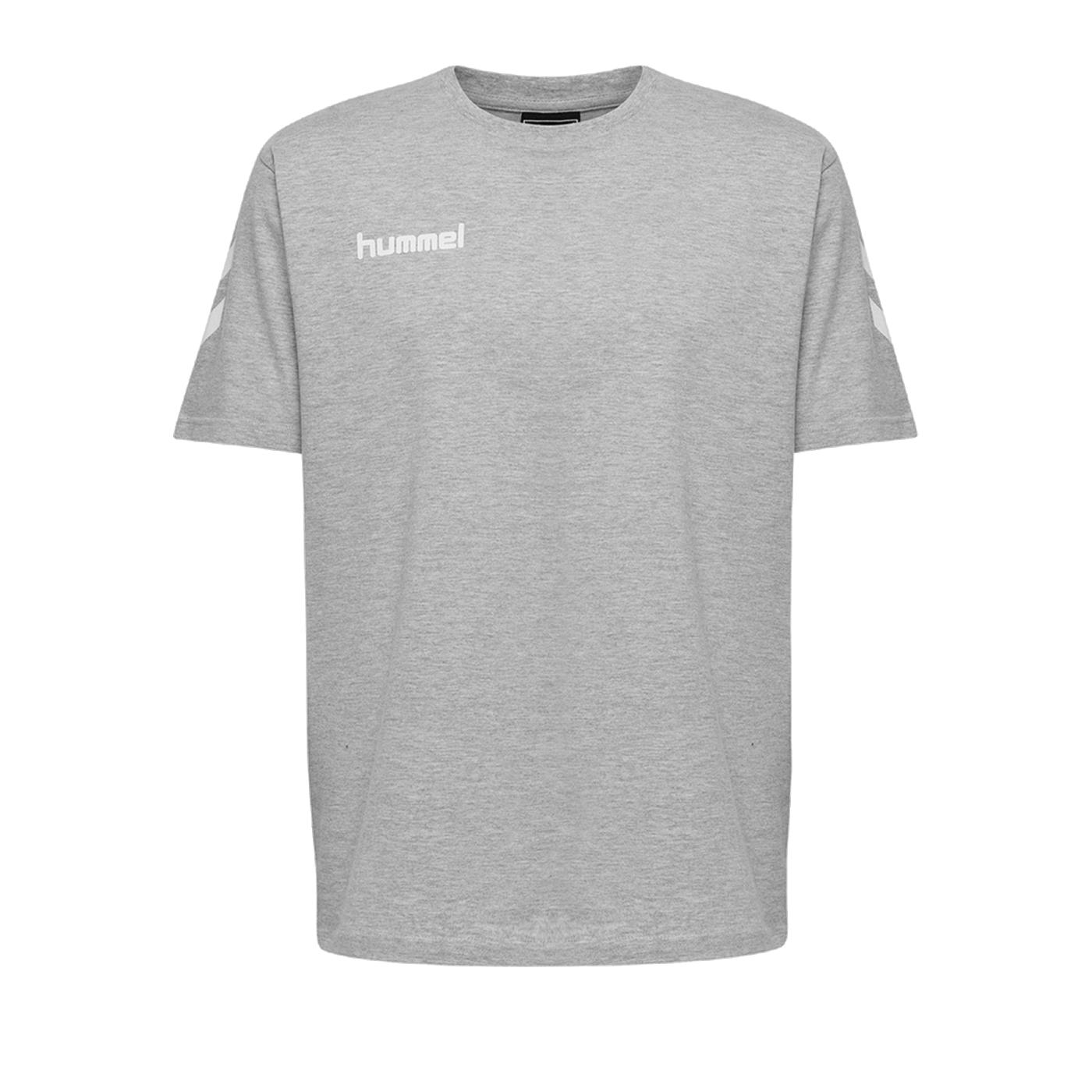 Hummel Cotton T-Shirt Kids Grau F2006 - Grau