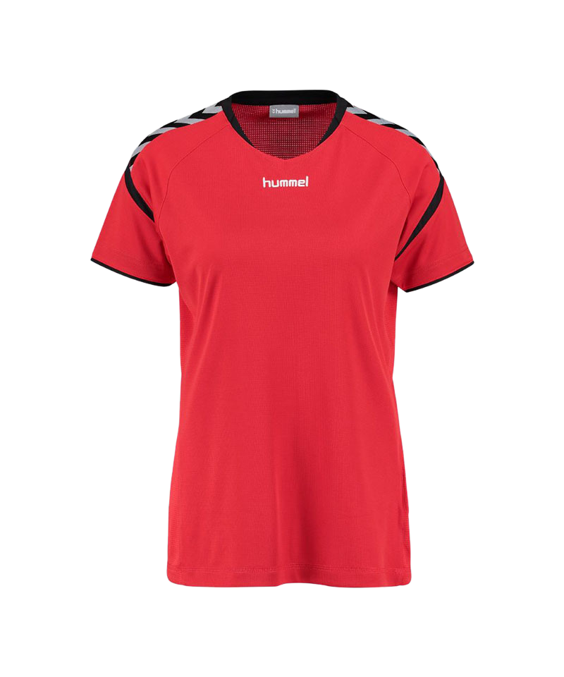 Hummel Authentic Charge SS Poly Trikot Damen 3062 - rot