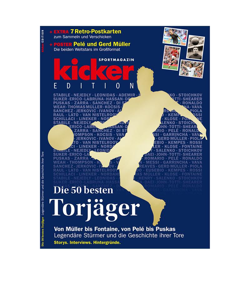 kicker Edition Die 50 besten Torjäger - rot
