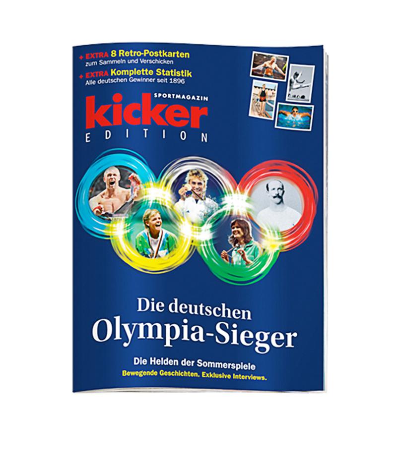 kicker Edition Die deutschen Olympiasieger - rot