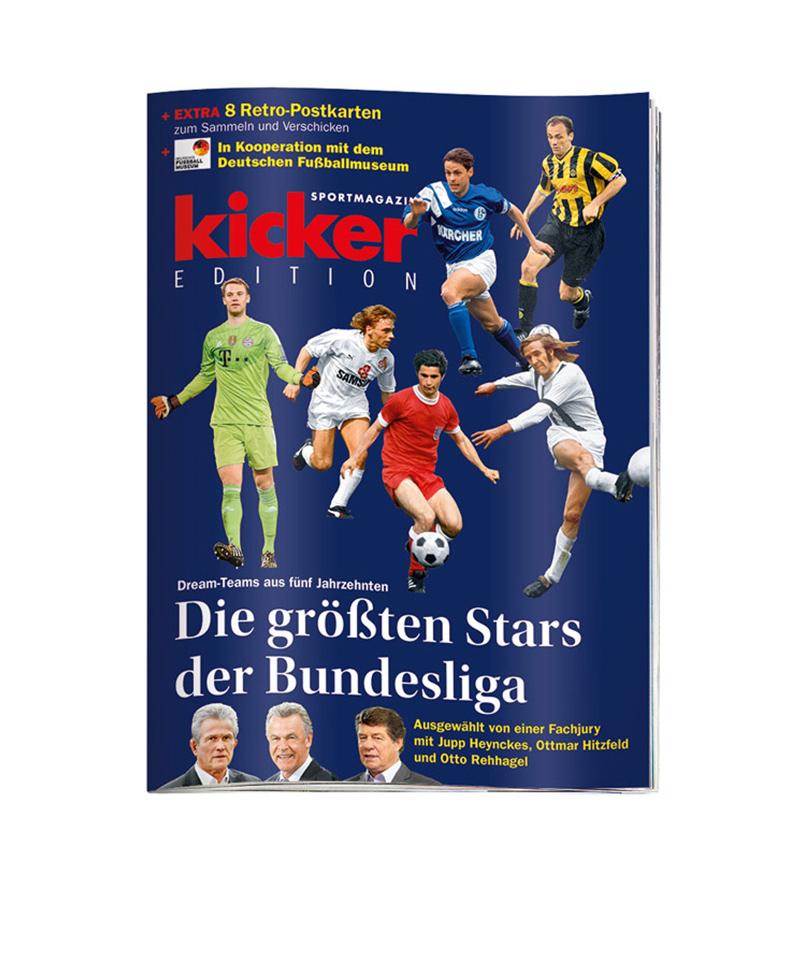 kicker Edition Die größten Stars der Bundesliga - rot