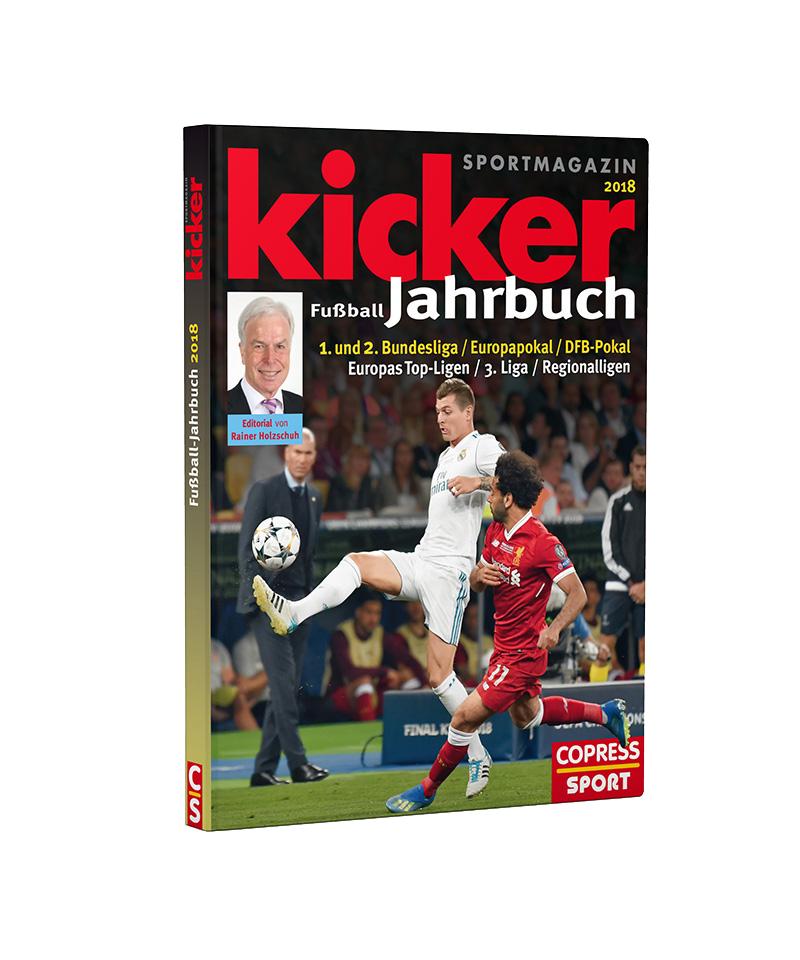 kicker Jahrbuch 2018 - rot