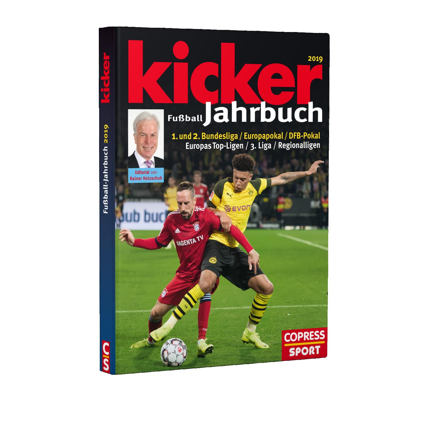 kicker Jahrbuch 2019 - rot