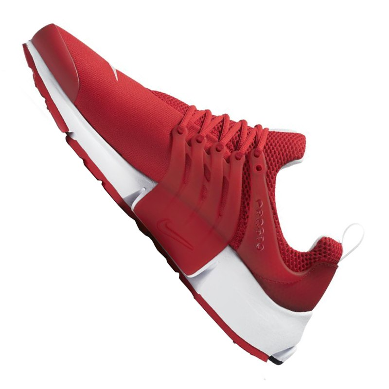 Nike Air Presto Essential Sneaker Rot Weiss F601