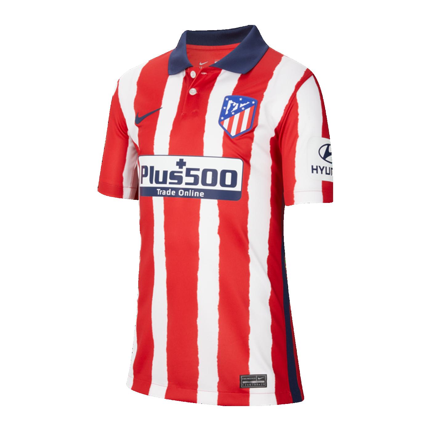 Nike Atletico Madrid Trikot Home 2020/2021 Kids F612 ...
