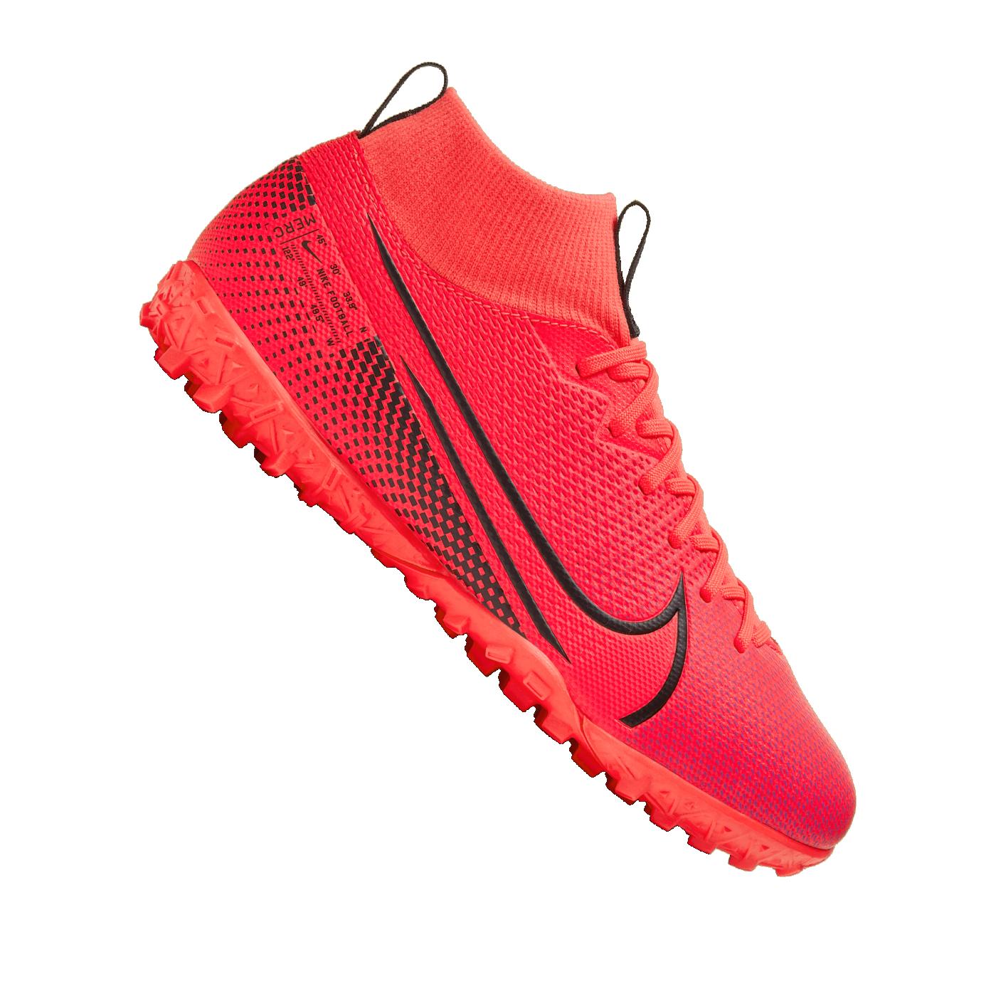 Nike Jr Mercurial Superfly VII Academy TF Kids Rot F606